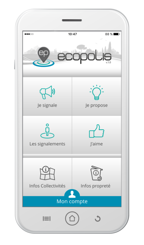 Application Ecopolis Coved
