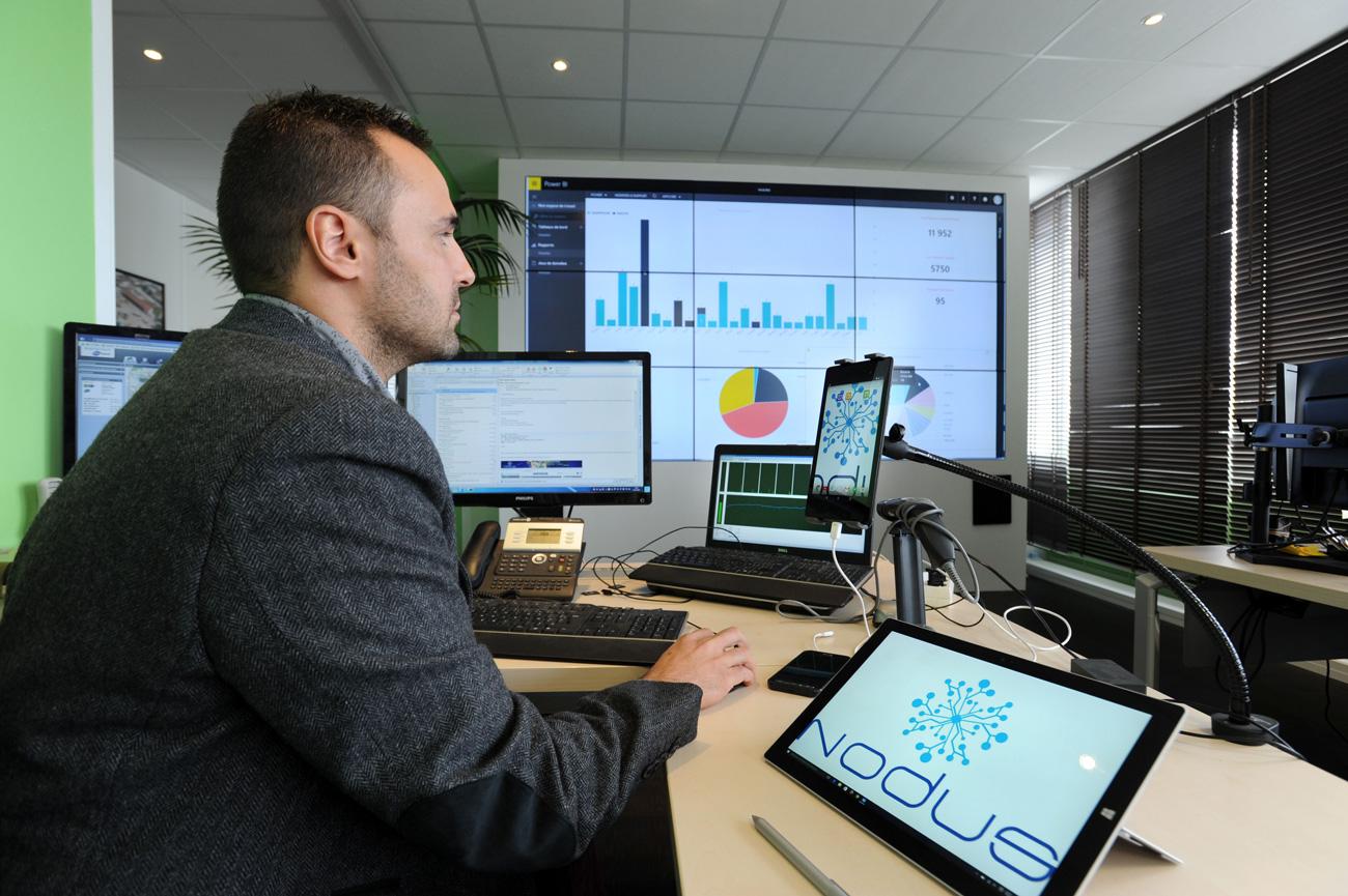 Nodus plateforme de pilotage des données