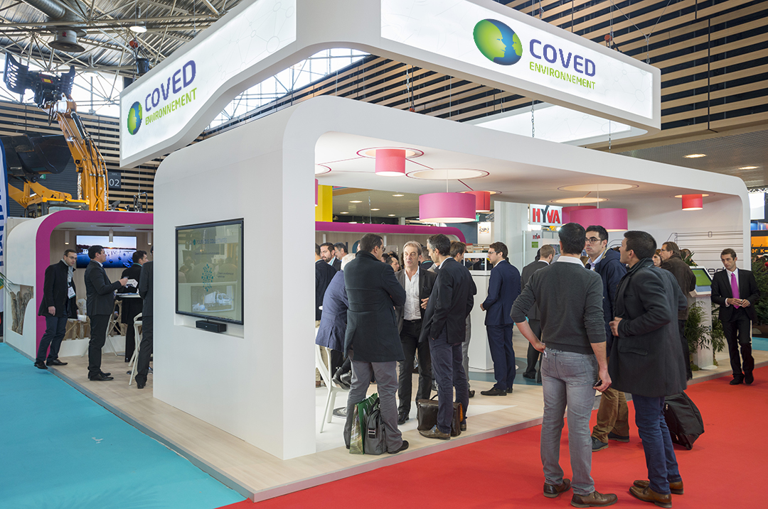 Stand Coved Pollutec 2018
