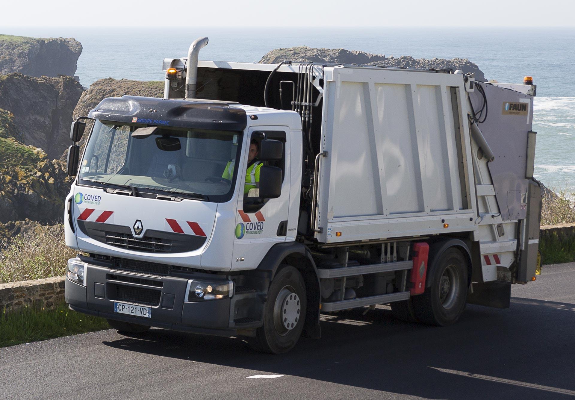 Benne à ordures ménagères Coved Environnement